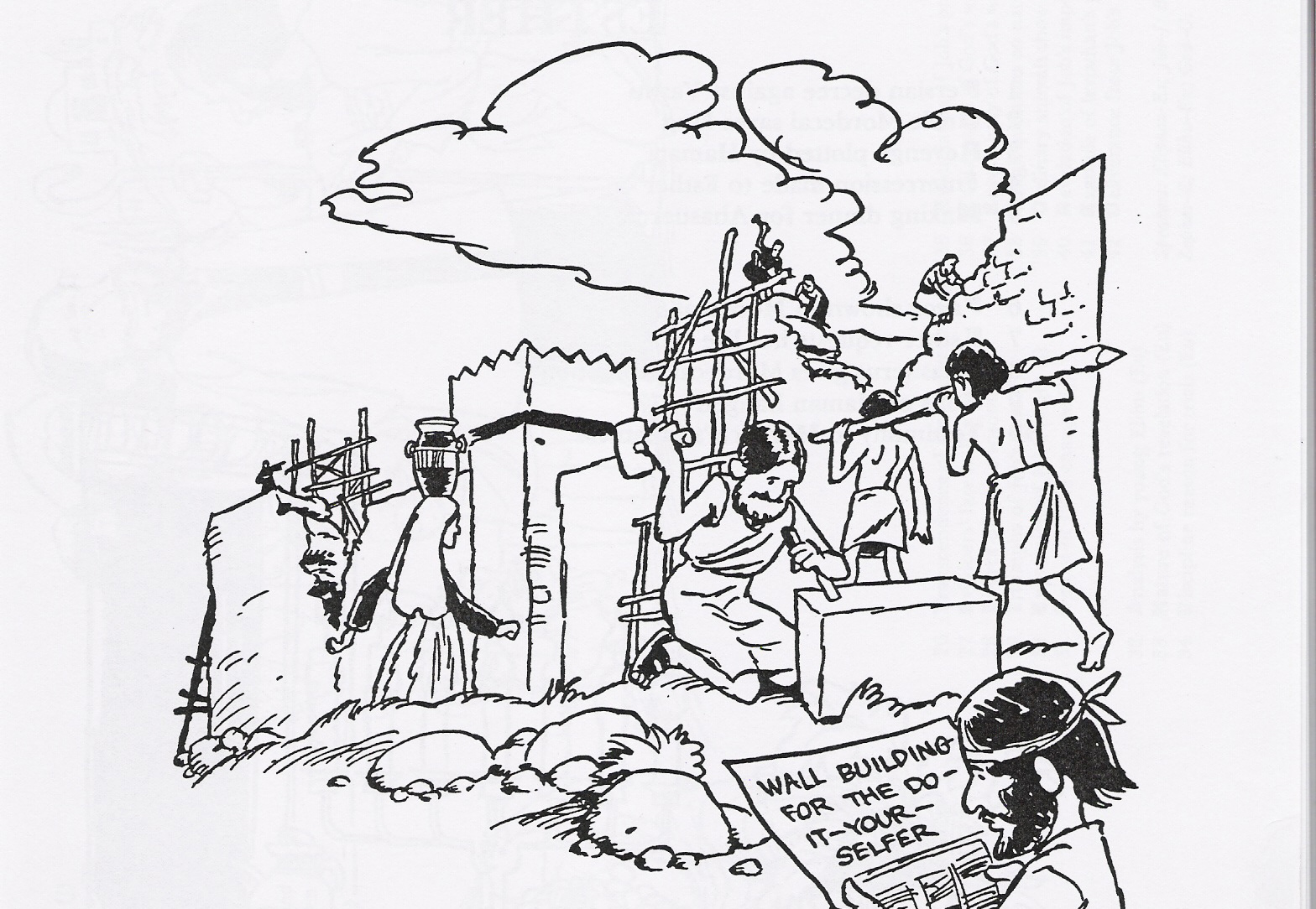Coloring Pages For Nehemiah : Free coloring pages of nehemiah wall