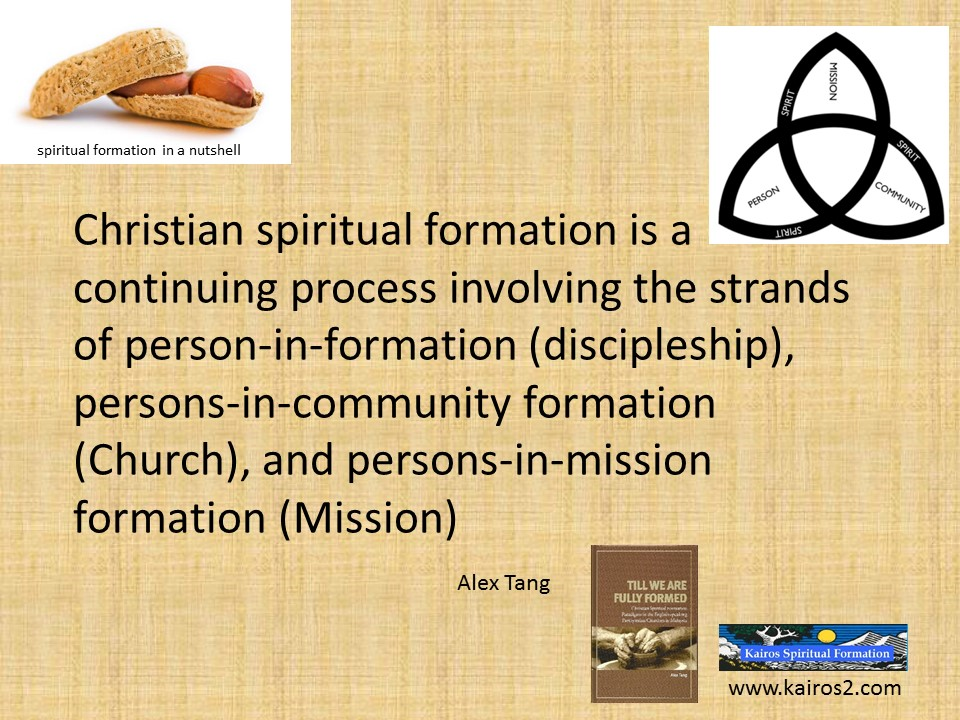 what is spiritual formation The pastoral formation program should provide opportunities for seminarians to acquire the basic administrative  spiritual formation growing closer to christ.