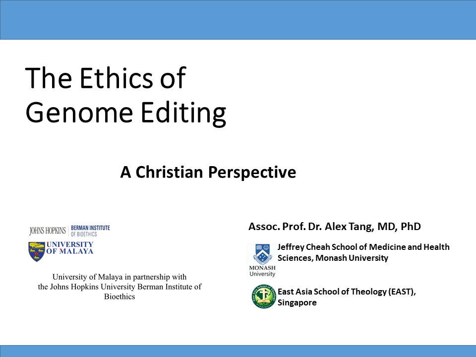 Title The Ethics of Gene Editing